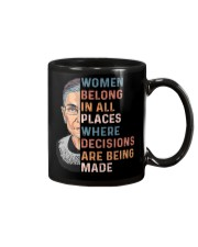Women Belong In All Places  Mug thumbnail