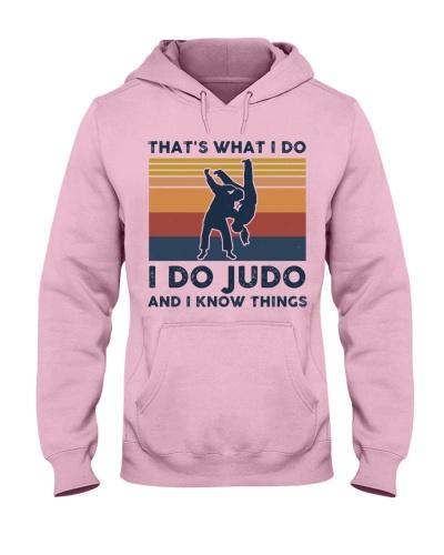 I Do Judo And I Know Things - Retro