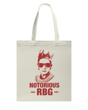 Notorious RBG Red Tote Bag thumbnail