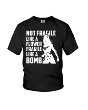 WW - Not Fragile Like A Flower Fragile Like A Bomb Youth T-Shirt thumbnail