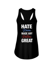 Hate Never Made Any Nation Great Ladies Flowy Tank thumbnail
