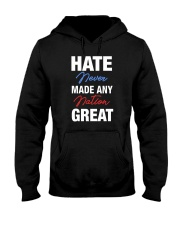 Hate Never Made Any Nation Great Hooded Sweatshirt thumbnail