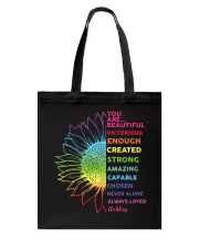 You Are Beautiful Personalized Tote Bag tile