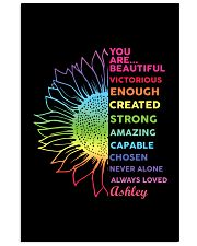 You Are Beautiful Personalized 11x17 Poster front