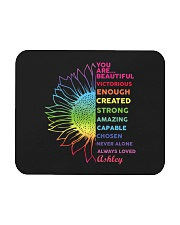 You Are Beautiful Personalized Mousepad tile