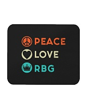Peace Love RBG Retro Mousepad thumbnail