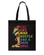 She Got Mad Hustle And A Dope Soul Tote Bag thumbnail