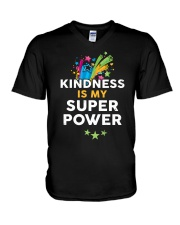 Kindness Is My Super Power V-Neck T-Shirt thumbnail