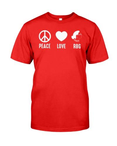 Peace Love RBG
