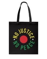 No Justice No Peace Tote Bag thumbnail