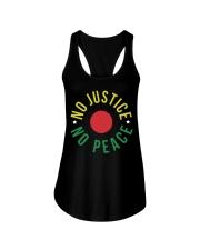 No Justice No Peace Ladies Flowy Tank thumbnail