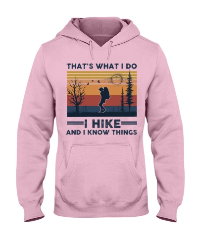 I Hike And I Know Things - Retro