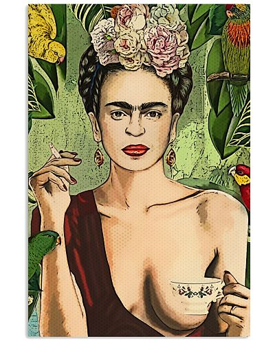 Frida Kahlo Tea And Smokes