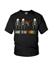 Dare To Be Yourself LGBT Pride Youth T-Shirt thumbnail