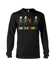 Dare To Be Yourself LGBT Pride Long Sleeve Tee thumbnail