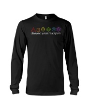 DnD Choose Your Weapon Long Sleeve Tee thumbnail