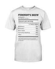 Feminist's Brew Classic T-Shirt thumbnail