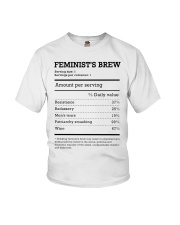 Feminist's Brew Youth T-Shirt thumbnail
