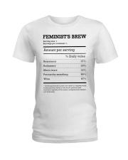 Feminist's Brew Ladies T-Shirt thumbnail