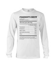 Feminist's Brew Long Sleeve Tee thumbnail
