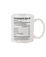 Feminist's Brew Mug front