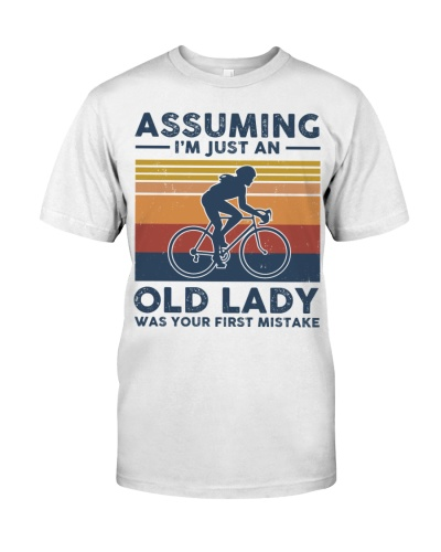 Assuming I'm Just An Old Lady  - Biking