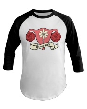 Grow A Pair Roses Baseball Tee tile