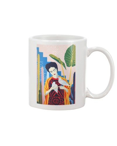 Frida Kahlo Portrait Mexican Decor