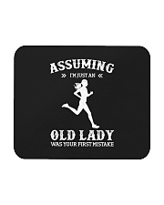 Assuming I'm An Just Old Lady - Running Mousepad thumbnail