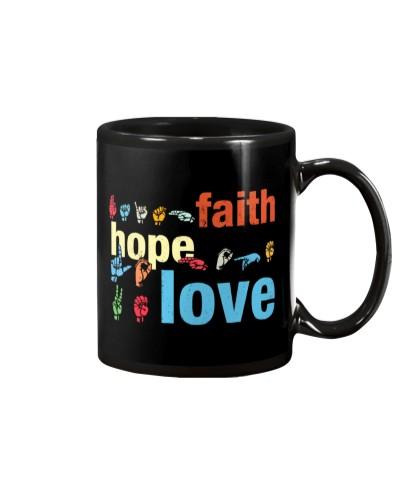 Faith Hope Love Sign Language