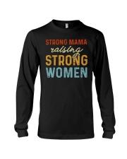 Strong Mama Raising Strong Women Retro Long Sleeve Tee thumbnail
