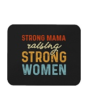 Strong Mama Raising Strong Women Retro Mousepad thumbnail