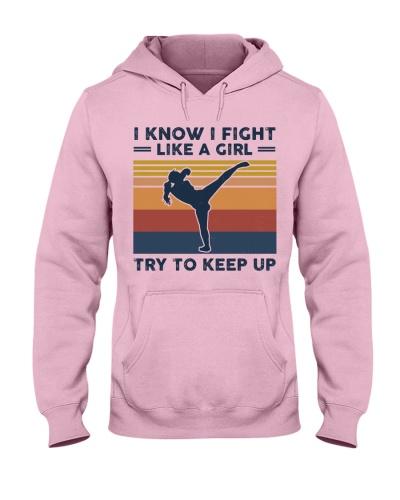 I Know I Fight Like A Girl - Kickboxing Retro