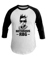 Notorious RBG Baseball Tee thumbnail