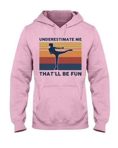 Underestimate Me That'll Be Fun - Krav Maga Retro