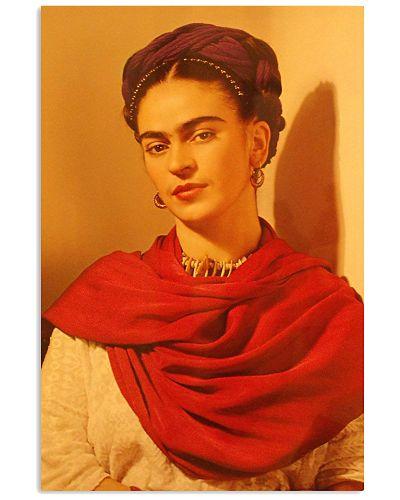 Frida Kahlo Warm Portrait