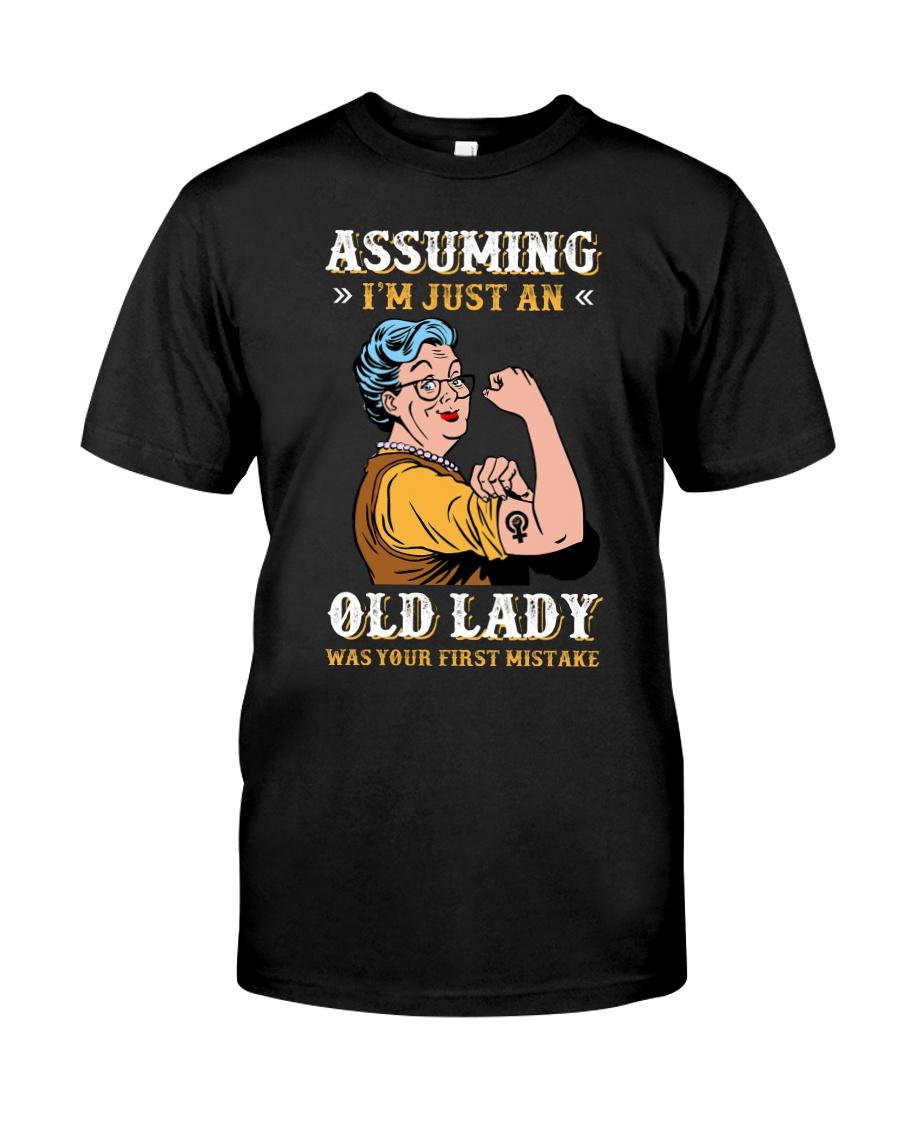 Assuming Old Lady Feminism Classic T-Shirt