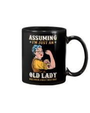 Assuming Old Lady Feminism Mug thumbnail