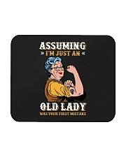 Assuming Old Lady Feminism Mousepad thumbnail