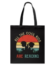 All The Cool Kids Are Reading Tote Bag thumbnail