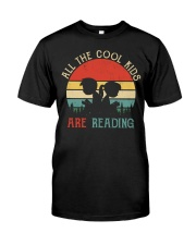 All The Cool Kids Are Reading Classic T-Shirt thumbnail