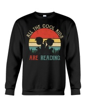 All The Cool Kids Are Reading Crewneck Sweatshirt thumbnail