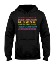 Do All The Good You Can Hooded Sweatshirt thumbnail