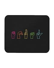 Equal Sign Language Mousepad thumbnail