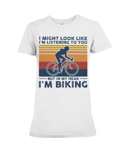 I Might Look Like I'm Listening To You - Biking