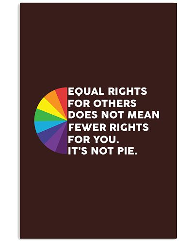 Equal Rights For Others Does Not Mean Fewer Rights