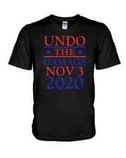 Undo The Damage Nov 3 2020 V-Neck T-Shirt thumbnail