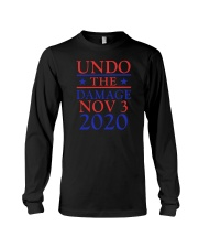 Undo The Damage Nov 3 2020 Long Sleeve Tee thumbnail