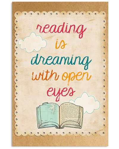 Reading Is Dreaming With Open Eyes