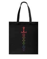 DnD Rainbow Sword Tote Bag thumbnail